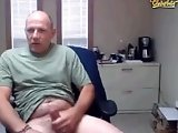 Daddy works out his cock harder at work