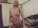 Blonde Babe Loves To Ride Big Hard Cock